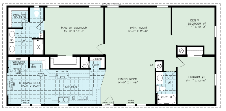 tradewinds floorplan